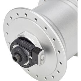 Shimano Nexus DH-C3000-3N Nabendynamo 3 Watt für Felgenbremse/Schnellspanner Silber